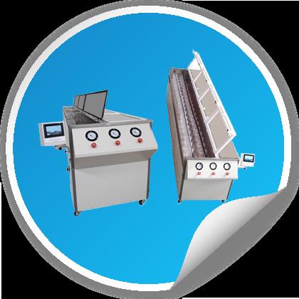 خرید تجهیزات آزمایشگاهی پلیمر - خرید دستگاه آزمون نوار های آبیاری یا قطره چکانها - irrigation