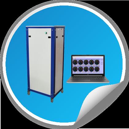 خرید تجهیزات آزمایشگاهی پلیمر - خرید دستگاه مولد فشار هیدرو استاتیک (1 تا 10 لاین) - pressure test
